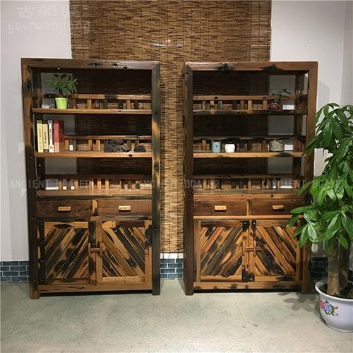 北京船木书柜