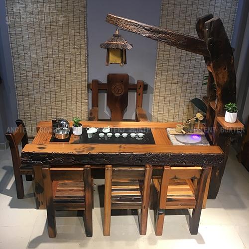 北京船木流水茶台