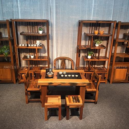 北京古船木茶台
