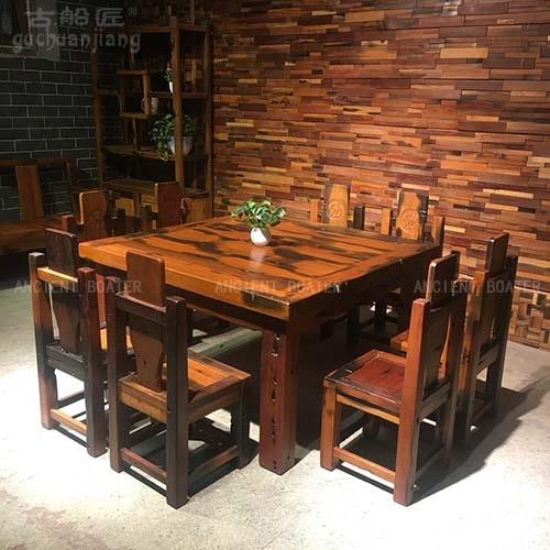北京船木餐桌