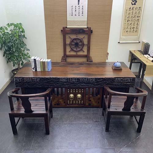 北京狮子头龙骨办公桌