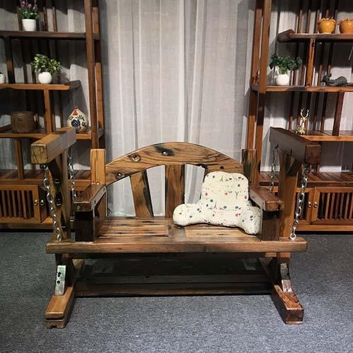 船木贝型秋千椅