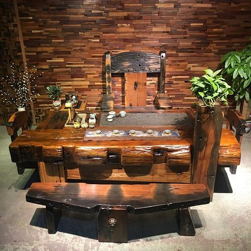 机舱木茶台