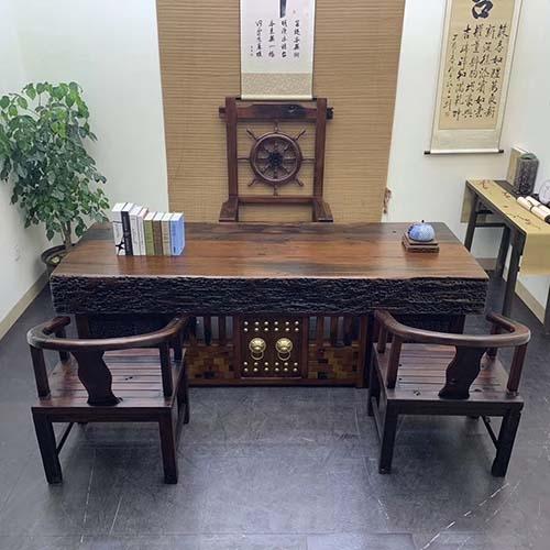狮子头龙骨办公桌